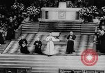 Image of Pope Paul VI at Saint Patrick's Cathedral and addressing UN New York United States USA, 1965, second 11 stock footage video 65675056506