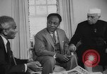 Image of leaders meeting United States USA, 1961, second 8 stock footage video 65675056513
