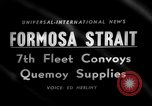 Image of supply shipments to Quemoy Formosa Strait, 1958, second 1 stock footage video 65675056518