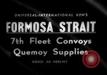 Image of supply shipments to Quemoy Formosa Strait, 1958, second 2 stock footage video 65675056518
