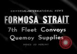 Image of supply shipments to Quemoy Formosa Strait, 1958, second 3 stock footage video 65675056518