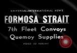 Image of supply shipments to Quemoy Formosa Strait, 1958, second 5 stock footage video 65675056518