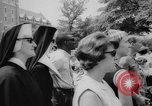 Image of wedding of first daughter Washington DC USA, 1967, second 7 stock footage video 65675056533