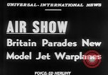 Image of British Air Show Farnborough England, 1951, second 2 stock footage video 65675056540