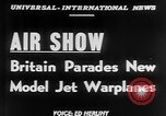 Image of British Air Show Farnborough England, 1951, second 3 stock footage video 65675056540