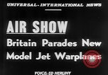Image of British Air Show Farnborough England, 1951, second 6 stock footage video 65675056540