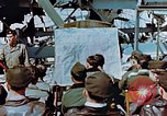 Image of pilots briefed Germany, 1945, second 2 stock footage video 65675056547