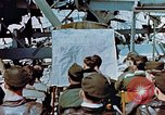 Image of pilots briefed Germany, 1945, second 3 stock footage video 65675056547