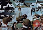 Image of pilots briefed Germany, 1945, second 5 stock footage video 65675056547