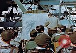 Image of pilots briefed Germany, 1945, second 6 stock footage video 65675056547