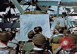 Image of pilots briefed Germany, 1945, second 7 stock footage video 65675056547