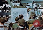 Image of pilots briefed Germany, 1945, second 8 stock footage video 65675056547