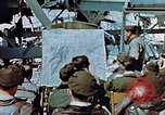 Image of pilots briefed Germany, 1945, second 10 stock footage video 65675056547