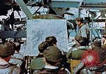 Image of pilots briefed Germany, 1945, second 11 stock footage video 65675056547