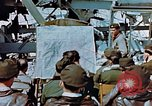 Image of pilots briefed Germany, 1945, second 12 stock footage video 65675056547