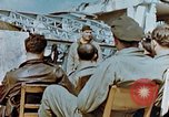 Image of pilots briefed Germany, 1945, second 2 stock footage video 65675056548