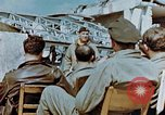 Image of pilots briefed Germany, 1945, second 4 stock footage video 65675056548