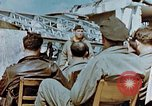 Image of pilots briefed Germany, 1945, second 5 stock footage video 65675056548