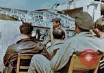 Image of pilots briefed Germany, 1945, second 7 stock footage video 65675056548