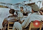 Image of pilots briefed Germany, 1945, second 8 stock footage video 65675056548