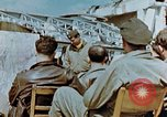 Image of pilots briefed Germany, 1945, second 9 stock footage video 65675056548