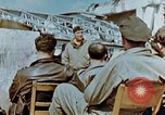 Image of pilots briefed Germany, 1945, second 10 stock footage video 65675056548