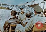 Image of pilots briefed Germany, 1945, second 12 stock footage video 65675056548