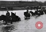 Image of war-weary Russian troops returning home Russia, 1917, second 8 stock footage video 65675056561