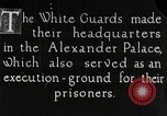 Image of White Russian Guards Saint Petersburg Russia, 1917, second 1 stock footage video 65675056564
