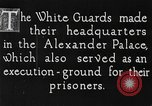 Image of White Russian Guards Saint Petersburg Russia, 1917, second 5 stock footage video 65675056564
