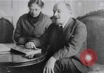 Image of Vladimir Lenin Moscow Russia Soviet Union, 1922, second 12 stock footage video 65675056566