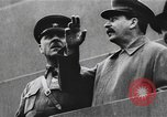 Image of Parade in Red Square Moscow Russia Soviet Union, 1934, second 9 stock footage video 65675056568
