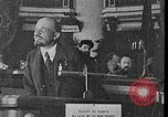 Image of Vladimir Lenin giving speeches Moscow Russia, 1920, second 8 stock footage video 65675056576