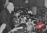 Image of Vladimir Lenin giving speeches Moscow Russia, 1920, second 12 stock footage video 65675056576