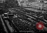 Image of Peaceful demonstration in Red Square Moscow Russia, 1917, second 2 stock footage video 65675056578