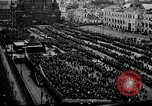 Image of Peaceful demonstration in Red Square Moscow Russia, 1917, second 4 stock footage video 65675056578