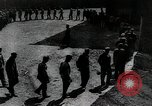Image of Prisoners exercising in yard Russia, 1914, second 3 stock footage video 65675056585