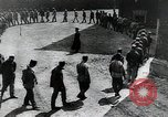 Image of Prisoners exercising in yard Russia, 1914, second 4 stock footage video 65675056585