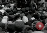 Image of Vladimir Lenin addresses crowd during revolution Russia, 1917, second 2 stock footage video 65675056589