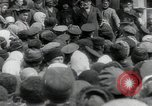 Image of Vladimir Lenin addresses crowd during revolution Russia, 1917, second 3 stock footage video 65675056589
