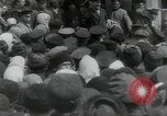 Image of Vladimir Lenin addresses crowd during revolution Russia, 1917, second 4 stock footage video 65675056589