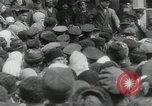 Image of Vladimir Lenin addresses crowd during revolution Russia, 1917, second 5 stock footage video 65675056589