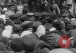 Image of Vladimir Lenin addresses crowd during revolution Russia, 1917, second 6 stock footage video 65675056589