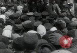 Image of Vladimir Lenin addresses crowd during revolution Russia, 1917, second 8 stock footage video 65675056589