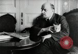 Image of Vladimir Lenin with his cat Russia, 1917, second 3 stock footage video 65675056590