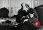 Image of Vladimir Lenin with his cat Russia, 1917, second 5 stock footage video 65675056590