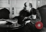Image of Vladimir Lenin with his cat Russia, 1917, second 6 stock footage video 65675056590