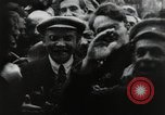Image of Bolshevik leader Vladimir Lenin celebrated at Red Square Moscow Russia Soviet Union, 1917, second 8 stock footage video 65675056594