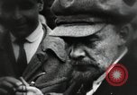 Image of Bolshevik leader Vladimir Lenin celebrated at Red Square Moscow Russia Soviet Union, 1917, second 11 stock footage video 65675056594