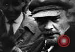 Image of Bolshevik leader Vladimir Lenin celebrated at Red Square Moscow Russia Soviet Union, 1917, second 12 stock footage video 65675056594